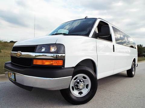 2016 Chevrolet Express Passenger for sale at SAINT CHARLES MOTORCARS in Saint Charles IL