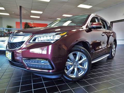 2014 Acura MDX for sale at SAINT CHARLES MOTORCARS in Saint Charles IL