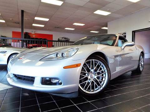 2005 Chevrolet Corvette for sale at SAINT CHARLES MOTORCARS in Saint Charles IL