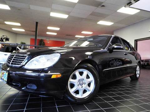 2001 Mercedes-Benz S-Class for sale at SAINT CHARLES MOTORCARS in Saint Charles IL