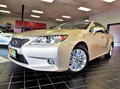 2015 Lexus ES 350 for sale at SAINT CHARLES MOTORCARS in Saint Charles IL