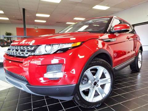 2012 Land Rover Range Rover Evoque for sale at SAINT CHARLES MOTORCARS in Saint Charles IL