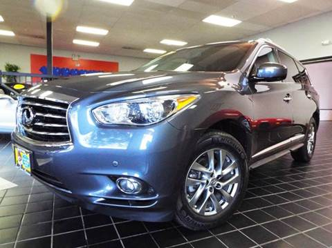 2013 Infiniti JX35 for sale at SAINT CHARLES MOTORCARS in Saint Charles IL