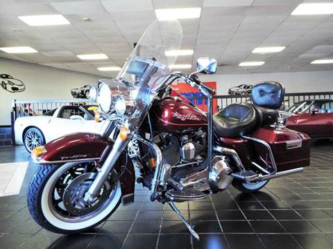 2002 Harley-Davidson Road King for sale at SAINT CHARLES MOTORCARS in Saint Charles IL
