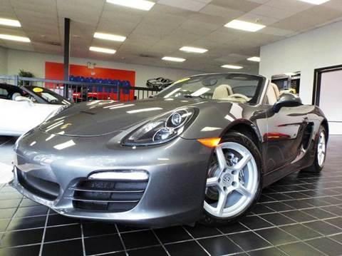 2013 Porsche Boxster for sale at SAINT CHARLES MOTORCARS in Saint Charles IL