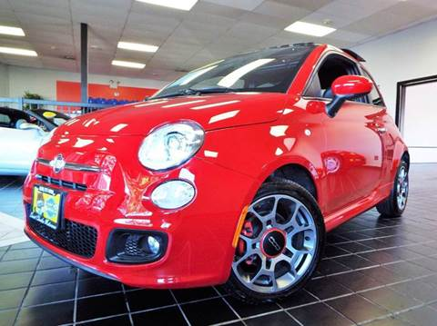 2013 FIAT 500 for sale at SAINT CHARLES MOTORCARS in Saint Charles IL