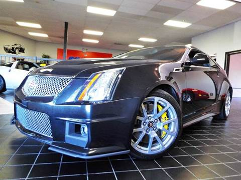 2014 Cadillac CTS-V for sale at SAINT CHARLES MOTORCARS in Saint Charles IL