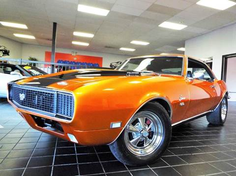 1968 Chevrolet Camaro for sale at SAINT CHARLES MOTORCARS in Saint Charles IL
