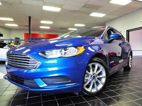 2017 Ford Fusion Hybrid for sale at SAINT CHARLES MOTORCARS in Saint Charles IL
