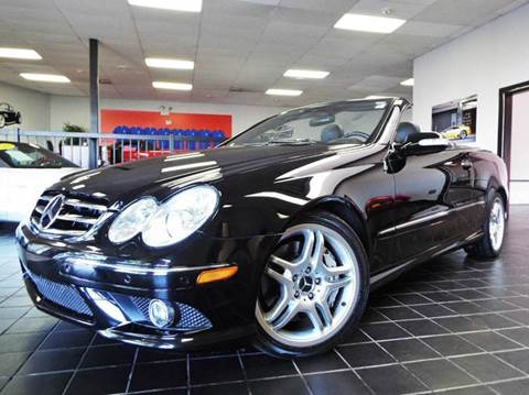 2006 Mercedes-Benz CLK for sale at SAINT CHARLES MOTORCARS in Saint Charles IL