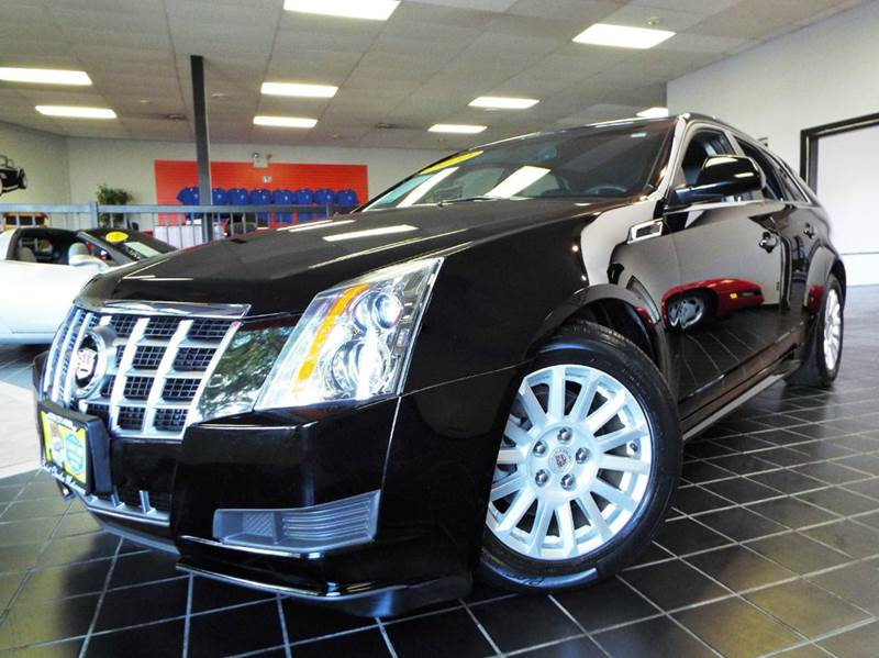 2012 Cadillac CTS for sale at SAINT CHARLES MOTORCARS in Saint Charles IL