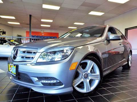 2011 Mercedes-Benz C-Class for sale at SAINT CHARLES MOTORCARS in Saint Charles IL
