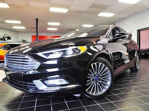 2017 Ford Fusion for sale at SAINT CHARLES MOTORCARS in Saint Charles IL