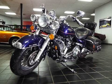 1999 Harley-Davidson Road King for sale at SAINT CHARLES MOTORCARS in Saint Charles IL