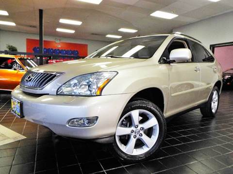 2008 Lexus RX 350 for sale at SAINT CHARLES MOTORCARS in Saint Charles IL