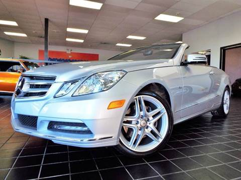 2012 Mercedes-Benz E-Class for sale at SAINT CHARLES MOTORCARS in Saint Charles IL