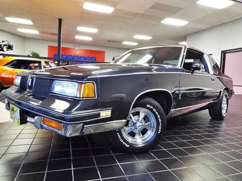 1987 Oldsmobile Cutlass Salon for sale at SAINT CHARLES MOTORCARS in Saint Charles IL
