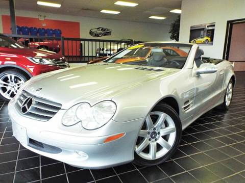 2003 Mercedes-Benz SL-Class for sale at SAINT CHARLES MOTORCARS in Saint Charles IL