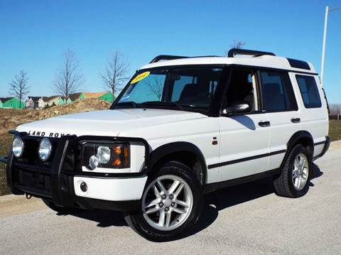 2004 Land Rover Discovery for sale at SAINT CHARLES MOTORCARS in Saint Charles IL