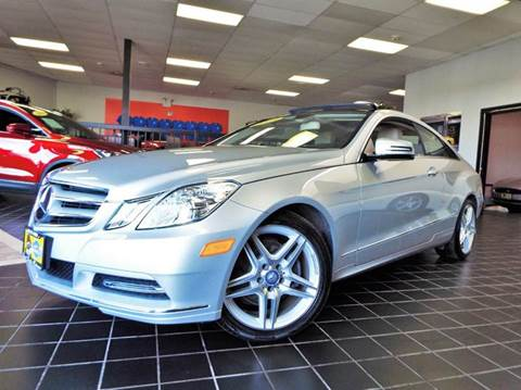 2013 Mercedes-Benz E-Class for sale at SAINT CHARLES MOTORCARS in Saint Charles IL