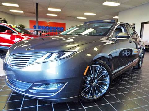 2015 Lincoln MKZ for sale at SAINT CHARLES MOTORCARS in Saint Charles IL