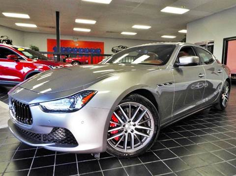 2014 Maserati Ghibli for sale at SAINT CHARLES MOTORCARS in Saint Charles IL