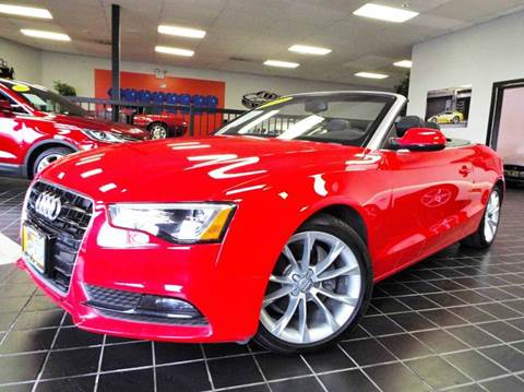 2013 Audi A5 for sale at SAINT CHARLES MOTORCARS in Saint Charles IL
