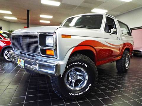 1986 Ford Bronco for sale at SAINT CHARLES MOTORCARS in Saint Charles IL