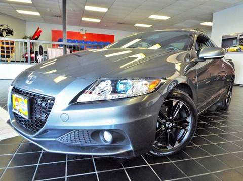 2014 Honda CR-Z for sale at SAINT CHARLES MOTORCARS in Saint Charles IL
