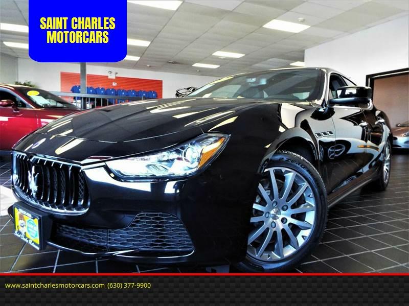 2014 Maserati Ghibli for sale at SAINT CHARLES MOTORCARS in Saint Charles IL