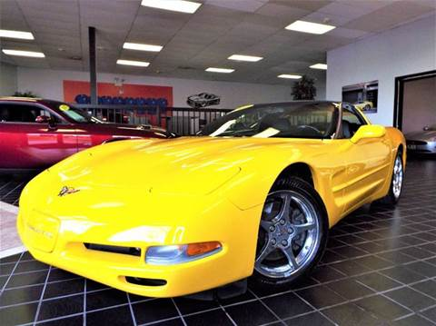 2002 Chevrolet Corvette for sale at SAINT CHARLES MOTORCARS in Saint Charles IL
