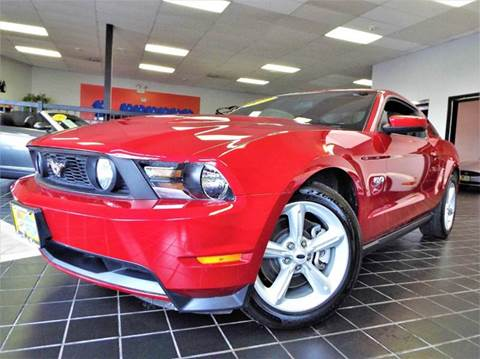 2011 Ford Mustang for sale at SAINT CHARLES MOTORCARS in Saint Charles IL