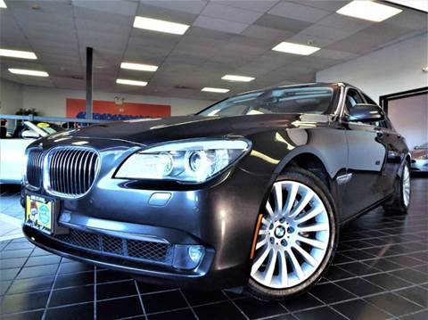 2012 BMW 7 Series for sale at SAINT CHARLES MOTORCARS in Saint Charles IL