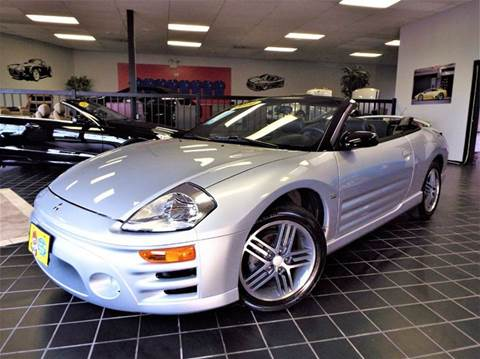 2004 Mitsubishi Eclipse Spyder for sale at SAINT CHARLES MOTORCARS in Saint Charles IL