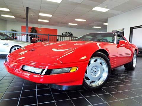 1991 Chevrolet Corvette for sale at SAINT CHARLES MOTORCARS in Saint Charles IL