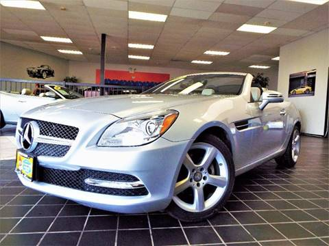 2012 Mercedes-Benz SLK for sale at SAINT CHARLES MOTORCARS in Saint Charles IL