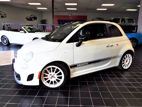 2013 FIAT 500c for sale at SAINT CHARLES MOTORCARS in Saint Charles IL