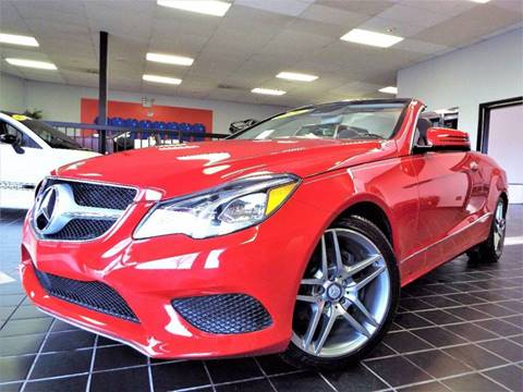 2014 Mercedes-Benz E-Class for sale at SAINT CHARLES MOTORCARS in Saint Charles IL