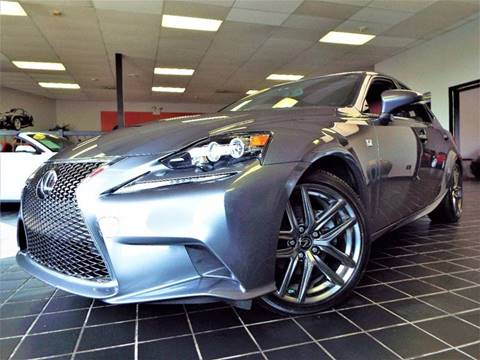 2015 Lexus IS 250 for sale at SAINT CHARLES MOTORCARS in Saint Charles IL