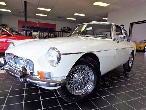 1967 MG MGB for sale at SAINT CHARLES MOTORCARS in Saint Charles IL