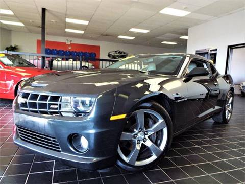 2012 Chevrolet Camaro for sale at SAINT CHARLES MOTORCARS in Saint Charles IL