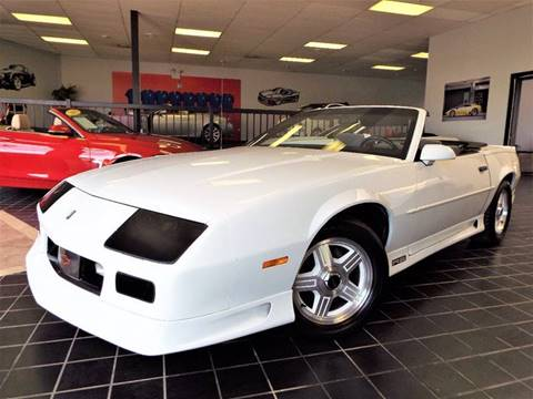 1991 Chevrolet Camaro for sale at SAINT CHARLES MOTORCARS in Saint Charles IL
