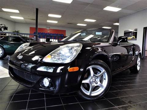 2005 Toyota MR2 Spyder for sale at SAINT CHARLES MOTORCARS in Saint Charles IL
