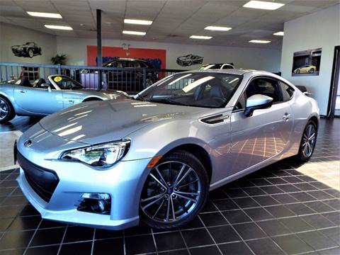 2015 Subaru BRZ for sale at SAINT CHARLES MOTORCARS in Saint Charles IL