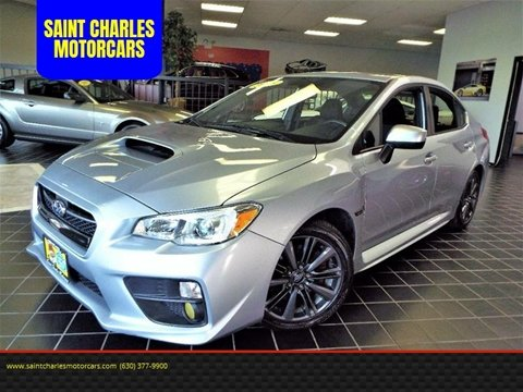 2015 Subaru WRX for sale at SAINT CHARLES MOTORCARS in Saint Charles IL