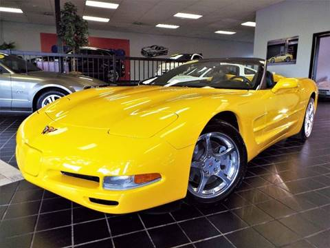 2004 Chevrolet Corvette for sale at SAINT CHARLES MOTORCARS in Saint Charles IL
