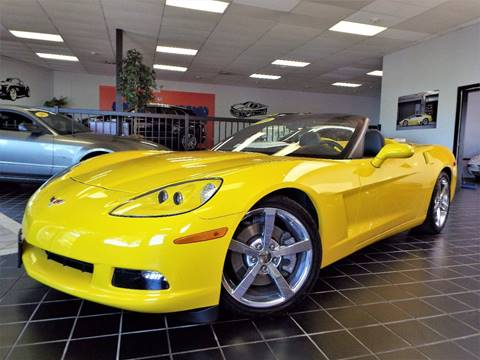 2009 Chevrolet Corvette for sale at SAINT CHARLES MOTORCARS in Saint Charles IL