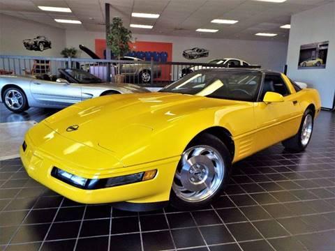 1994 Chevrolet Corvette for sale at SAINT CHARLES MOTORCARS in Saint Charles IL