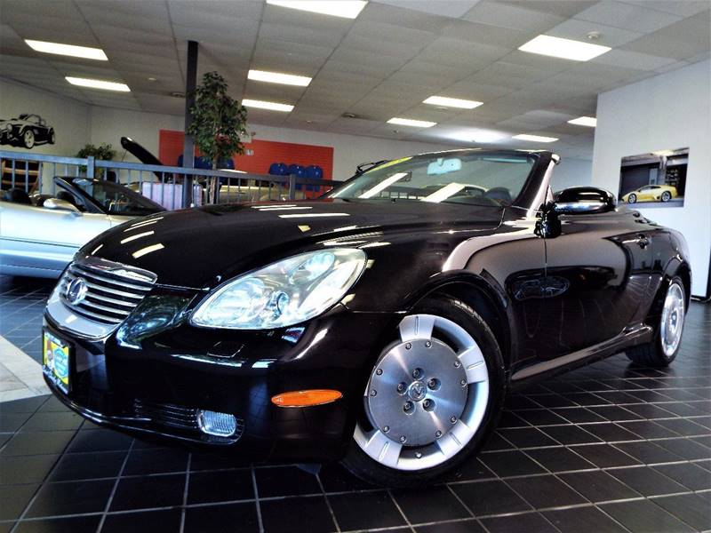 2005 Lexus SC 430 for sale at SAINT CHARLES MOTORCARS in Saint Charles IL