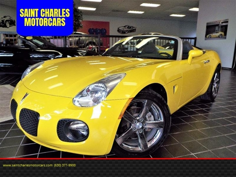 2008 Pontiac Solstice for sale at SAINT CHARLES MOTORCARS in Saint Charles IL
